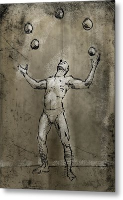 Rodrigo Metal Print by H James Hoff