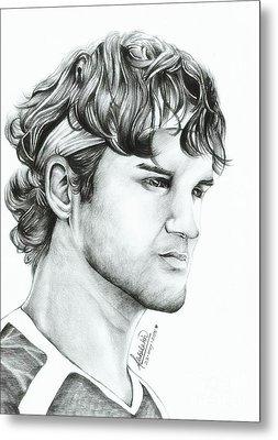 Roger Federer Metal Print by Abhilekh Phukan