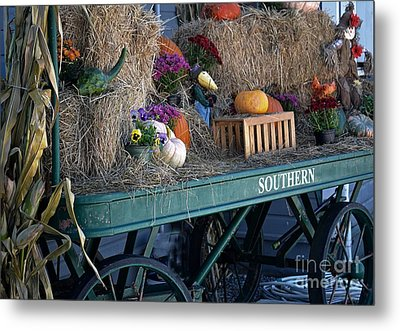 Rolling Into Fall Metal Print by JW Hanley