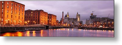 Romantic Liverpool Metal Print by Sydney Alvares