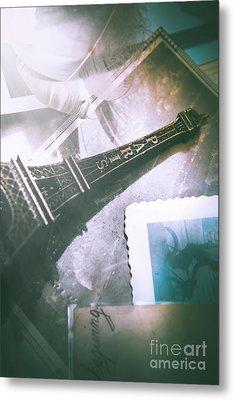 Romantic Paris Memory Metal Print by Jorgo Photography - Wall Art Gallery