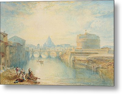 Rome Metal Print by Joseph Mallord William Turner