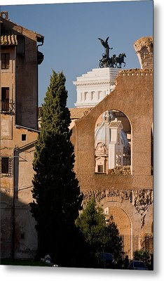 Rome Layers 1 Metal Print by Art Ferrier