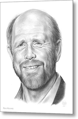 Ron Howard Metal Print by Greg Joens
