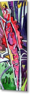 Rose Bud 2 Metal Print by Mindy Newman