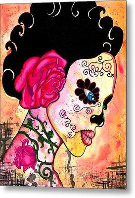 Rose Noose Metal Print by B Marie