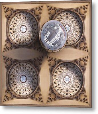 Rotunda 4 Ways Metal Print by Scott Norris