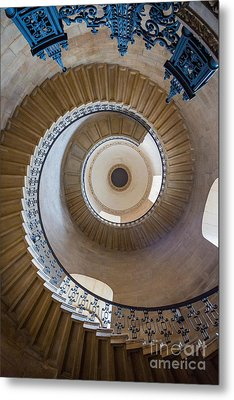 Round And Round Metal Print by Inge Johnsson