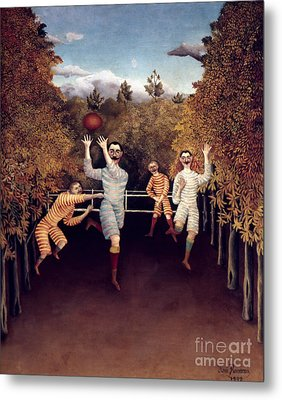 Rousseau: Football, 1908 Metal Print by Granger