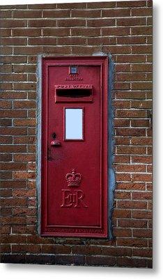 Royal Mail Metal Print by Joana Kruse