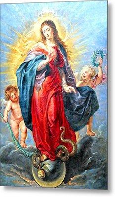 Rubens Painting 1627 Metal Print by Munir Alawi