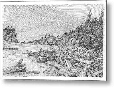 Ruby Beach Metal Print by Jack Pumphrey