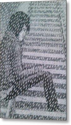 Run-away Metal Print by Melinda Johnston