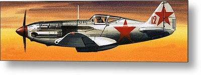 Russian Mikoyan-gurevich Fighter Metal Print by Wilf Hardy