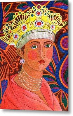 Russian Princess Metal Print by Jane Tattersfield