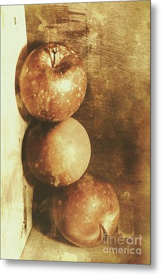 Rustic Old Apple Box Metal Print by Jorgo Photography - Wall Art Gallery