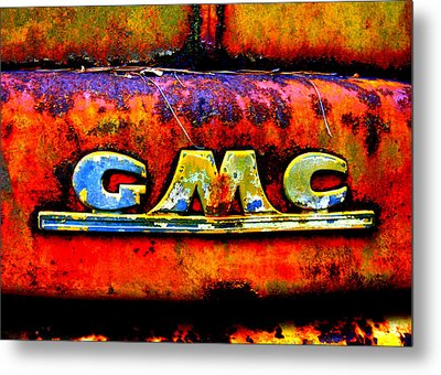 Rusty Metal Print by Dana  Oliver