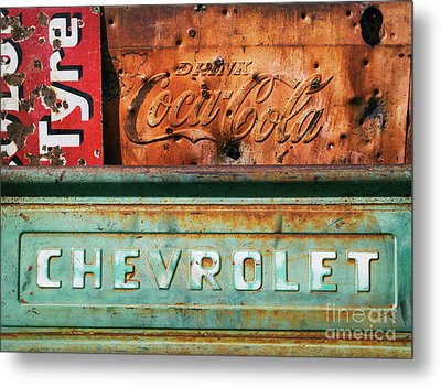 Rusty Gold Metal Print by Tim Gainey
