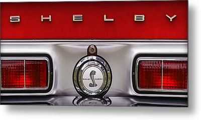 S   H   E   L   B   Y Metal Print by Gordon Dean II
