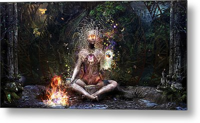 Sacrament For The Sacred Dreamers Metal Print by Cameron Gray