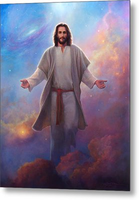 Sacred Space Metal Print by Greg Olsen