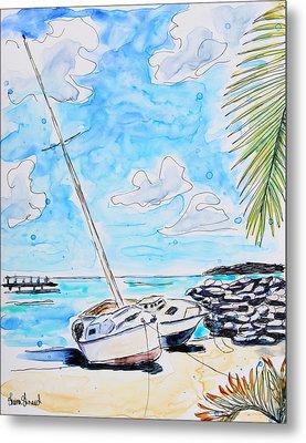 Sail Away Metal Print by Shaina Stinard
