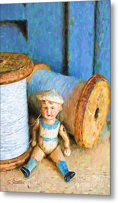 Sailor Boy Metal Print by Shirley Stalter