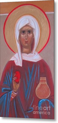 Saint Mary Magdalene  Metal Print by Seija Talolahti