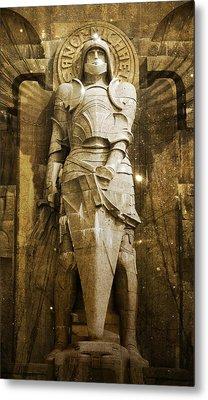Saint Michael Metal Print by Marc Huebner