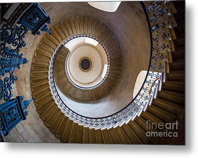 Saint Paul's Cathedral Stairs Metal Print by Inge Johnsson