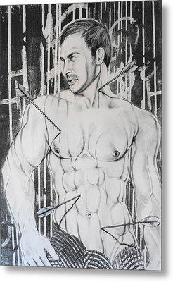 Saint Sebastian  2 Metal Print by Carmine Santaniello