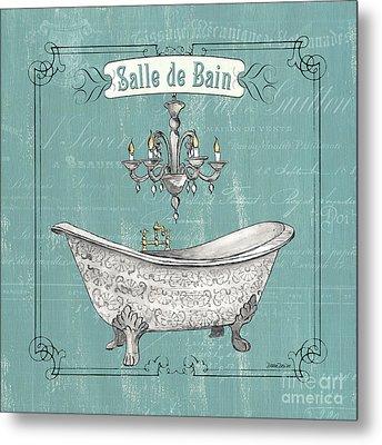 Salle De Bain Metal Print by Debbie DeWitt