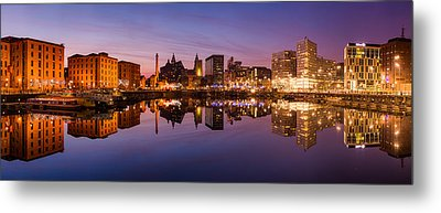 Salthouse Dock, Liverpool Metal Print by Alexis Birkill