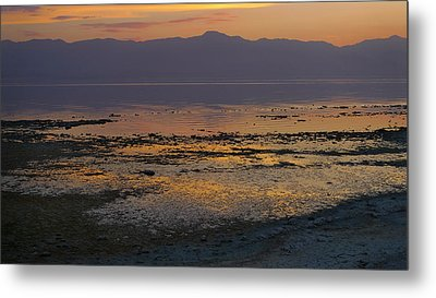 Salton Metal Print by Skip Hunt