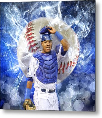 Salvy The Mvp Metal Print by Colleen Taylor