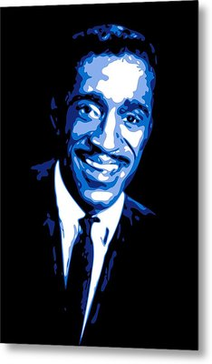 Sammy Davis Metal Print by DB Artist