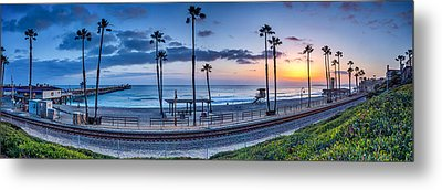 San Clemente In Pano Metal Print by Peter Tellone
