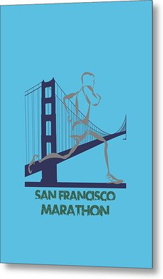 San Francisco Marathon2 Metal Print by Joe Hamilton