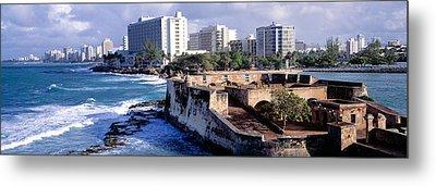 San Jeronimo Fort, San Juan, Puerto Rico Metal Print by Panoramic Images