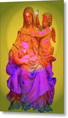 Sancta Maria No. 02 Metal Print by Ramon Labusch