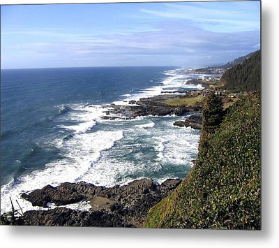 Sand And Sea 2 Metal Print by Will Borden
