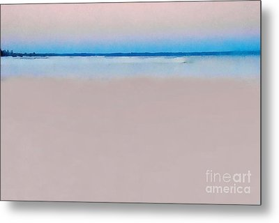 Sand And Sea Metal Print by Andrea Kollo
