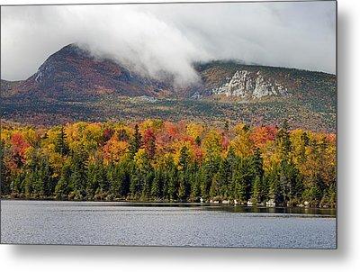 Sandy Stream Pond In Baxter State Park Maine Autumn Metal Print by Brendan Reals