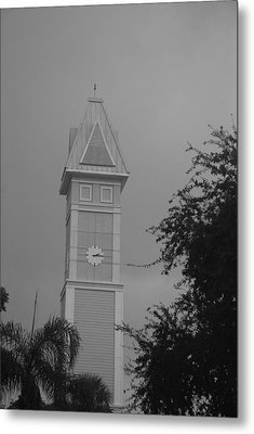 Save The Clock Tower Metal Print by Rob Hans