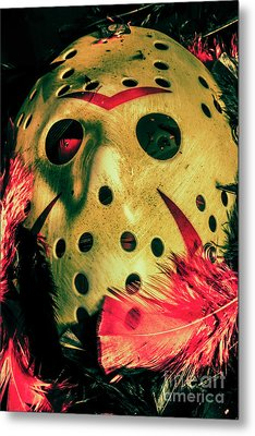 Scene From A Fright Night Slasher Flick Metal Print by Jorgo Photography - Wall Art Gallery