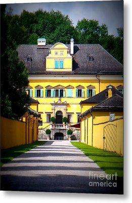 Schloss Hellbrunn Metal Print by Carol Groenen