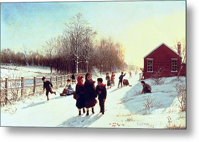 School's Out Metal Print by Samuel S Carr
