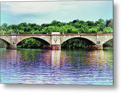 Schuylkill River Metal Print by Bill Cannon