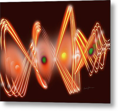 Science Fiction Metal Print by Anthony Caruso