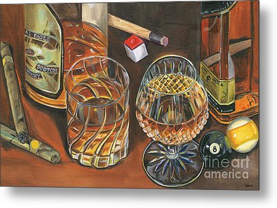 Scotch Cigars And Poll Metal Print by Debbie DeWitt